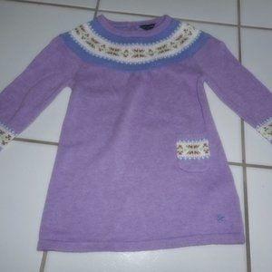 New TOMMY HILFIGER Girl 18 M Fair Isle Dress